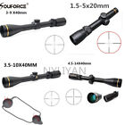 Reticle Duplex Mil Dot Optic Scope Sight&Mount For Rifle Scope Hunting Airsoft