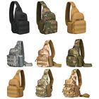New Shoulder Messenger Crossbody Bag Military Tactics Chest Pack With Bottle Bag