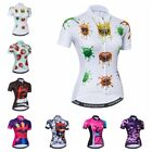 2018 New Cycling Jersey Women Summer Bike Short Sleeve Bicycle Clothing Tops