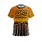Storm Womens Dye Sub Beer CoolWick Performance Crew Bowling Shirt