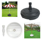 Parasol Umbrella Base Stand Sand Water Plastic Pole Garden Beach Patio Sun Shade
