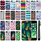 """For Apple iPhone 7/ iPhone 8 4.7"""" Design Slim HARD Back Case Phone Cover + Pen"""