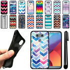 For LG G6 H870/ G6+ Plus US997/ H873 LS993 Chevron TPU SILICONE Case Cover + Pen