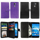 "For Huawei Ascend XT2 H1711 / Y7 2017 5.5"" Wallet Cover Case Wrist Strap + Pen"