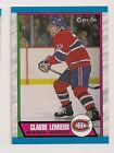 1989-90 OPC MONTREAL CANADIENS Select from LIST NHL HOCKEY CARDS O-PEE-CHEE