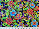 Payless Fabric Quilting Cotton Legacy Studio Polynesia Master Medallion Floral