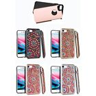 2-Layer Rhinestone Hybrid Protector Cover Case For APPLE iPhone 7 8 (4.7 inch)