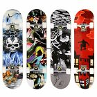 "Professional Adult Skateboard Complete Wheel Trucks Maple Deck 31"" x 8"" Wooden image"
