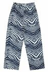 Zubaz NFL Youth Seattle Seahawks Loungs Pants, Navy/White