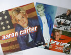 """AARON CARTER """"AARON'S PARTY (COME GET IT)"""" 2-SIDED U.S. PROMO POSTER/FLATS - Pop"""