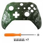 Soft Touch Faceplate Front Housing Shell Repair Part for Xbox One S X Controller