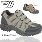 MENS 3 STRAP TOUCH STRAP SPORTS HIKING TREKKING MERCURY TRAINER SHOES UK 7-10