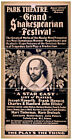 Photo Print Vintage Poster: Theatre Flyer From 1800'Sshakespeare 05