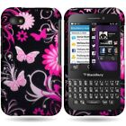 New Premium Hard Thin Rubber Design Case For Blackberry Q5