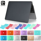Rubberized Hard Shell Case for Apple Macbook Pro 13 15 2012 - 2017 Keyboard Skin