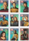 STAR TREK TNG QUOTABLE VARIOUS INSERT CHASE COSTUME PROMO SET SETS CHOOSE