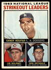 1964 Topps Baseball # 2-316 --- Pick Your Card - Each Card Scanned Front