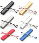 Kyпить Classic Rimless Compact Reading Glasses Readers Travel Slim Design with Case на еВаy.соm