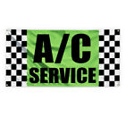 Ac Service #7 Outdoor Advertising Printing Vinyl Banner Sign With Grommets $169.99 USD on eBay