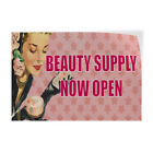beauty supply store in raleigh nc - Beauty Supply Now Open Indoor Store Sign Vinyl Decal Sticker