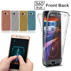 For Samsung Galaxy A8 A6 J6 S9  Case Shockproof Silicone Protective Clear Cover
