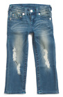 Внешний вид - True Religion Boys Denim Jeans Destructed Distressed Stretch 4 5 6 7 NWT $79