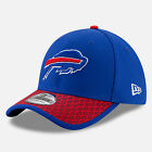 BUFFALO BILLS NFL OFFICIAL 2017 ON FIELD NEW ERA 39THIRTY FLEXFIT HAT/CAP NWT
