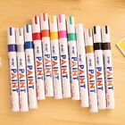 12X Paint Markers Oil Based Permanent Marker Pens For Car Tyre Glass Rubber