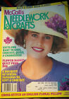 Vtg McCall's Needlework & Crafts Project Book Knit Crochet Crafts Mag 80's 90's
