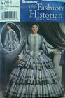 Внешний вид - Civil War Skirt and Bodice top sewing pattern discontinued OOP  Simplicity 9761