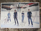 ALTER BRIDGE POSTER SIGNED BY THE ENTIRE BAND~FROM THE LAST HERO TOUR 2017