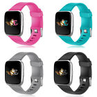 For Fitbit Versa Band Fitness Smart Watch Silicone Sport Strap Replacement Women