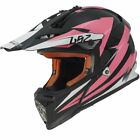 LS2 MX Off-Road Helmet Fast Mini Race Pink Youth Sizes