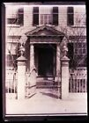 (1) ONE--EARLY 1900s GLASS NEGATIVE; SALEM MA.; NICHOLS DOORWAY as seen in pics