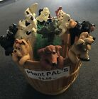 Kathleen Kelly Critter Factory -Collectible Clay Plant Pals Pot Sitters
