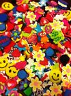 25 Pc Lot Fun Charms for Rainbow Loom Rubber Band DIY Bracelets Mixed Styles