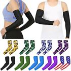 Внешний вид - PAIR Compression Sports Arm Sleeves Men Adult Kid Baseball Football Basketball