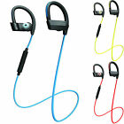 Sport Fitness Stereo Bluetooth Headphones Hifi Headset Sweatproof For Cellphone