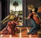 Photo Print Cestello Annunciation Botticelli, Sandro - in various sizes jwg-4375
