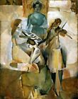 The Sonata by Marcel Duchamp. Fine Art Reproduction Made in U.S.A Giclee Prints