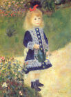 Photo/Poster - A Girl With A Watering Can - Renoir Pierre Auguste 1841 1919