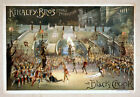 Photo Printed Old Poster: Stage Theatre Flyer Kiraley Brothers Around The World