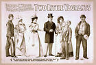 Photo Print Vintage Poster: Stage Theatre Flyer Two Little Vagrants 01 1