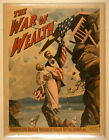 Photo Print Vintage Poster: Stage Theatre Flyer War Of Wealth A00