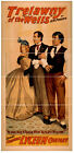 Photo Print Vintage Poster: Stage Theatre Flyer Trelawny Of The Wells 02