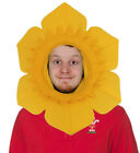 ST DAVID DAY WELSH DAFFODIL HAT ONE SIZE YELLOW FLOWER RUGBY SUPPORTER WALES LOT