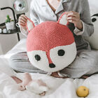 Home Decor Cute Knitted Cartoon Animal Sofa Bedroom Seat Bed Pillow Cushion Gift