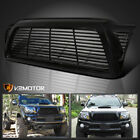 Fits+2005%2D2011+Toyota+Tacoma+Glossy+Black+Front+Horizontal+Billet+Hood+Grille