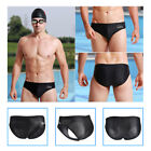 Men Boys Racing Sharkskin Training Swimming Boxer Briefs Trunks Shorts Swimwear