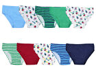 Boys 100% Cotton Briefs Kids 10 Pairs Pack Underwear Multi Pack Underpants Size